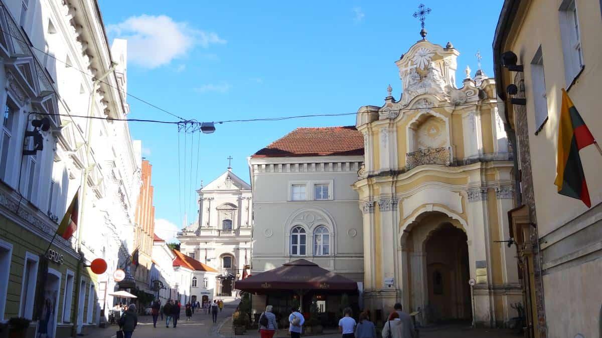 Südliche Altstadt in Vilnius