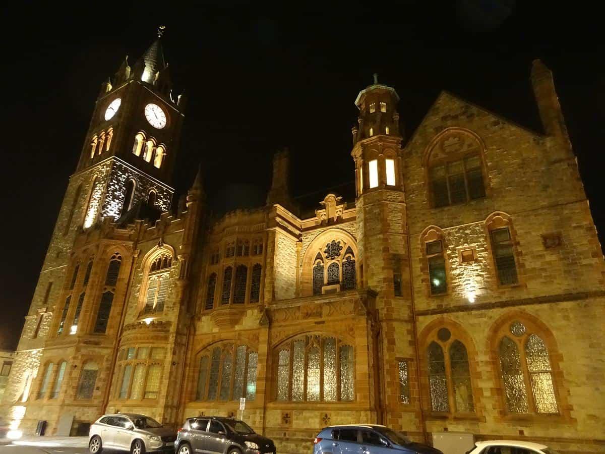 Guildhall, Derry, Nordirland