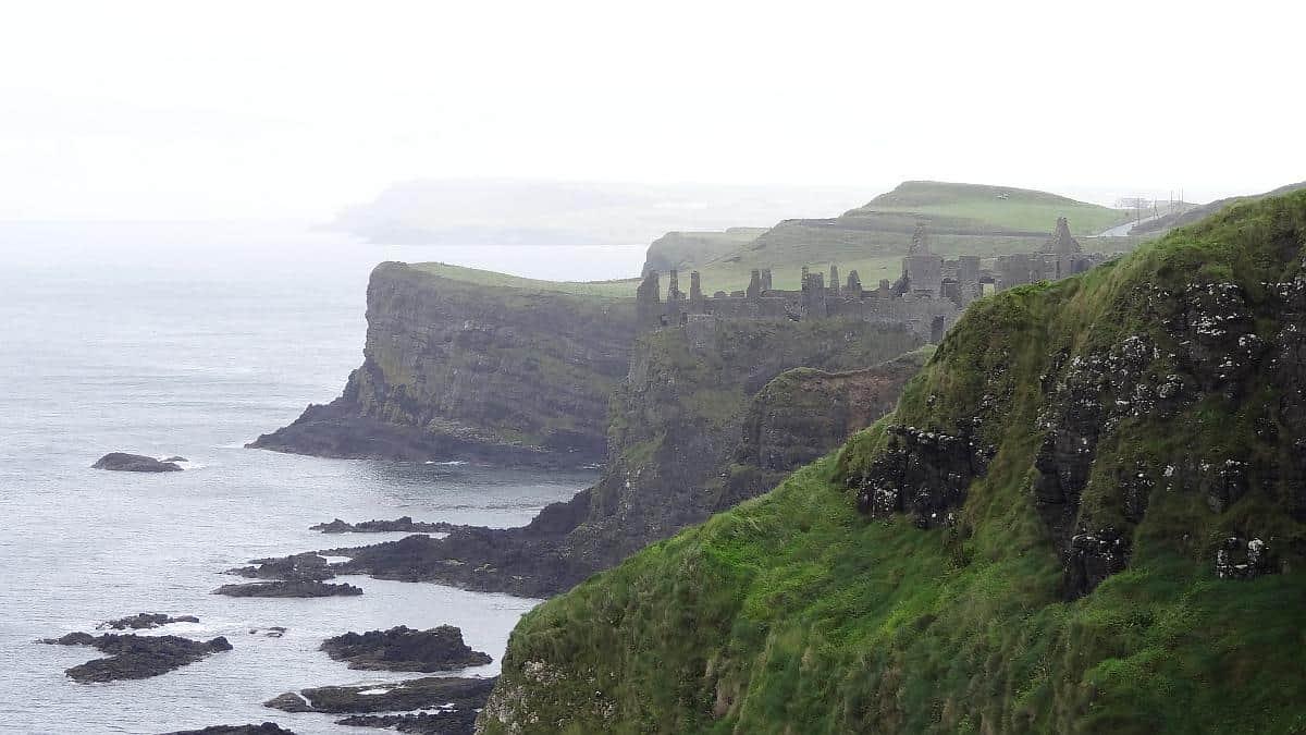 Ruinen von Dunluce Castle, Nordirland