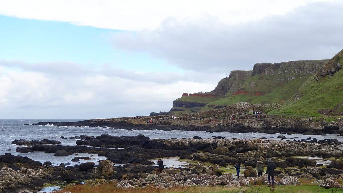 Schornstein des Riesen, Giant's Causeway, Nordirland