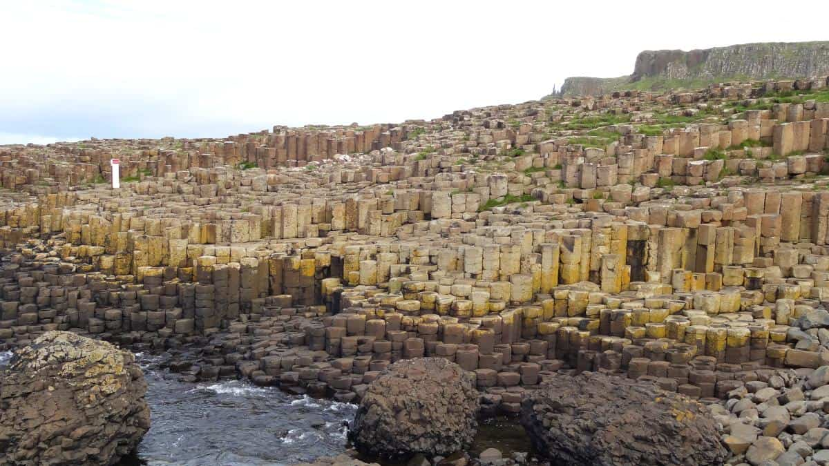 Basaltsäulen am Giant's Causeway, Nordirland