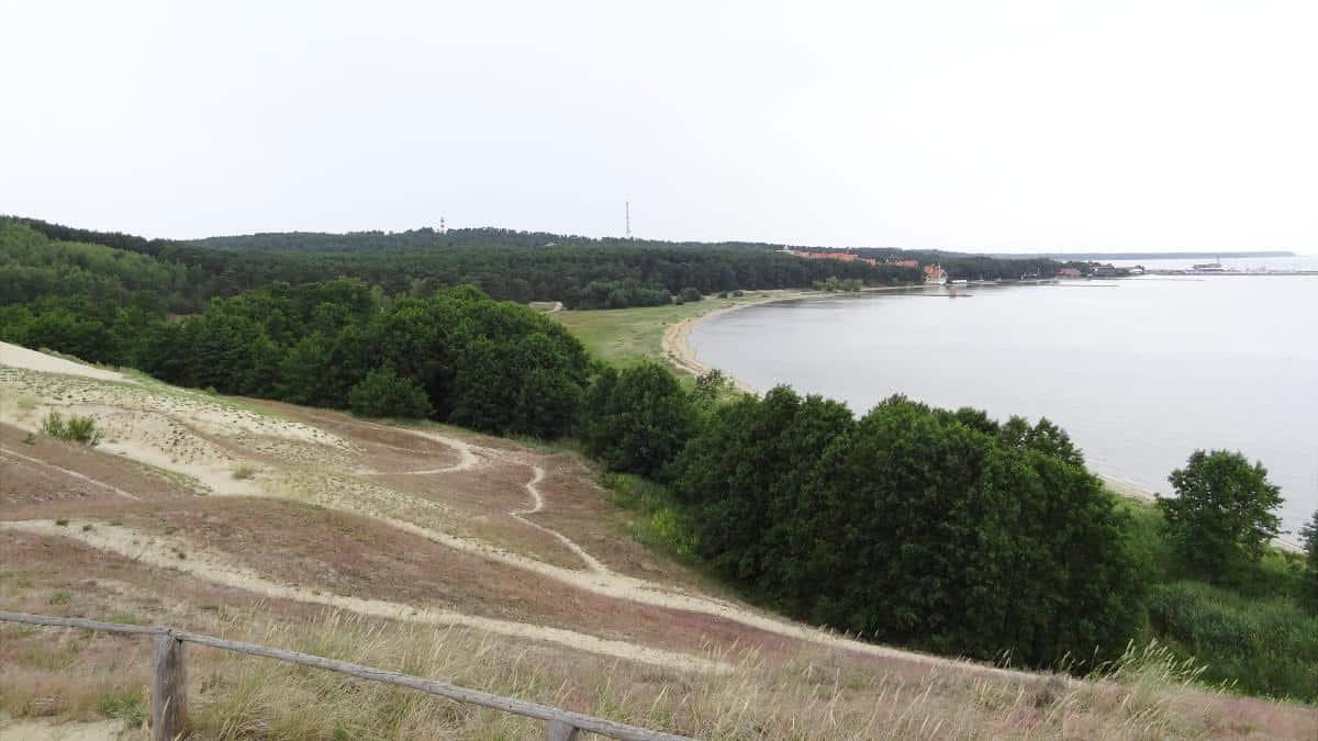 Blick auf Nida von der Höhen Düne