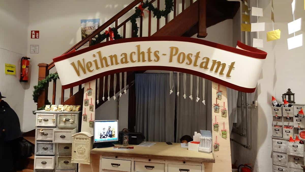 Weihnachtspostamt im Ledererturm in Wels
