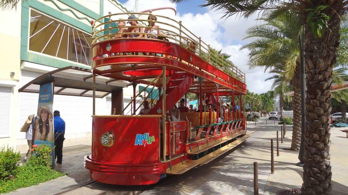 Touristentram, Streetcar, Oranjestad, Aruba