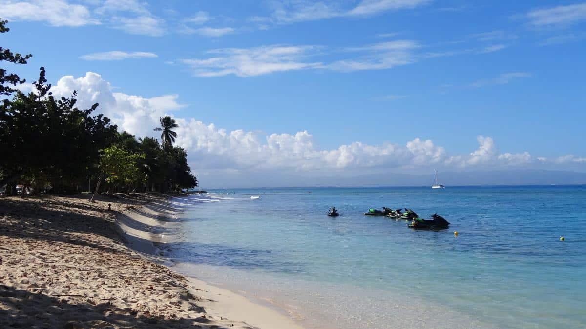 Plage du Souffleur, Grande-Terre, Guadeloupe