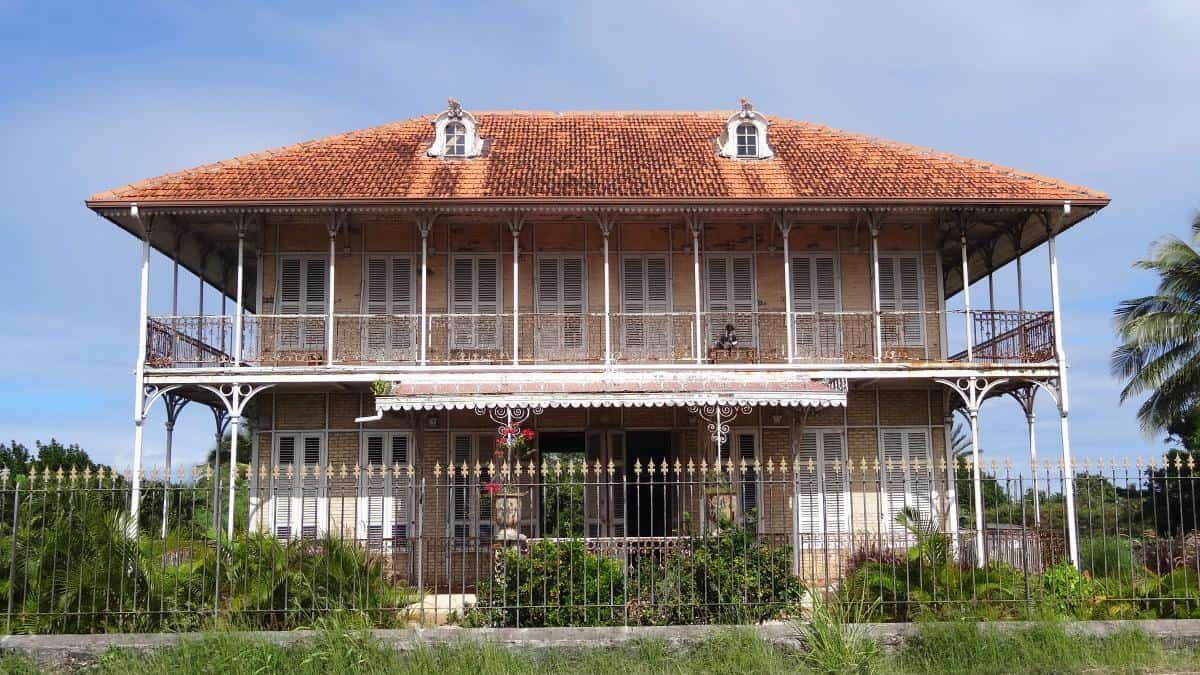 Maison Coloniale de Zévallos, Grande-Terre, Guadeloupe