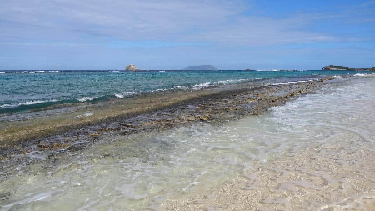 Plage de Anse à la Gourde, Grande-Terre, Guadeloupe