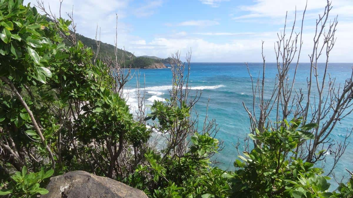Aussicht Wanderweg, Antigua