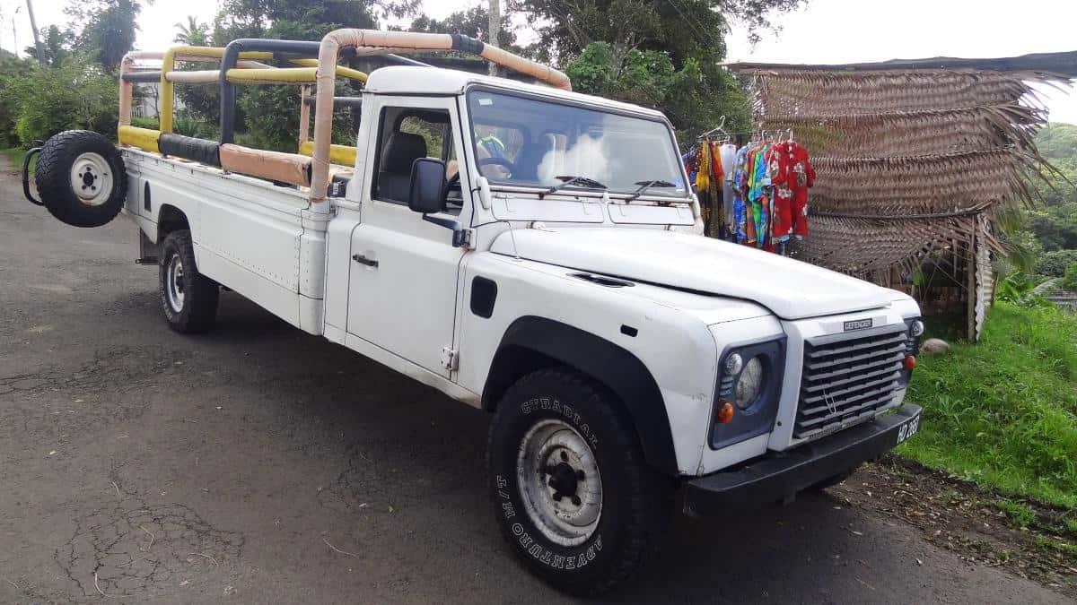 Jeep für die Jeeptour, St. Lucia
