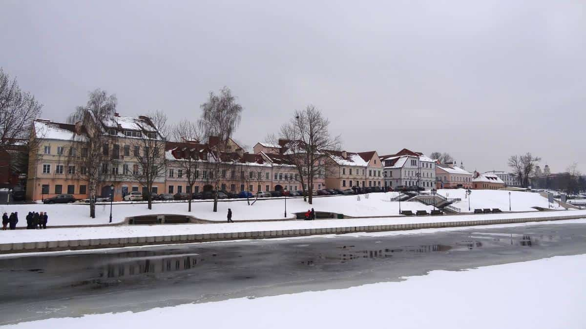 Traezkae-Vorstadt Minsk