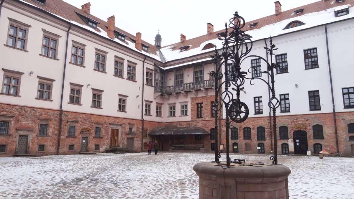 Schloss Mir Innenhof