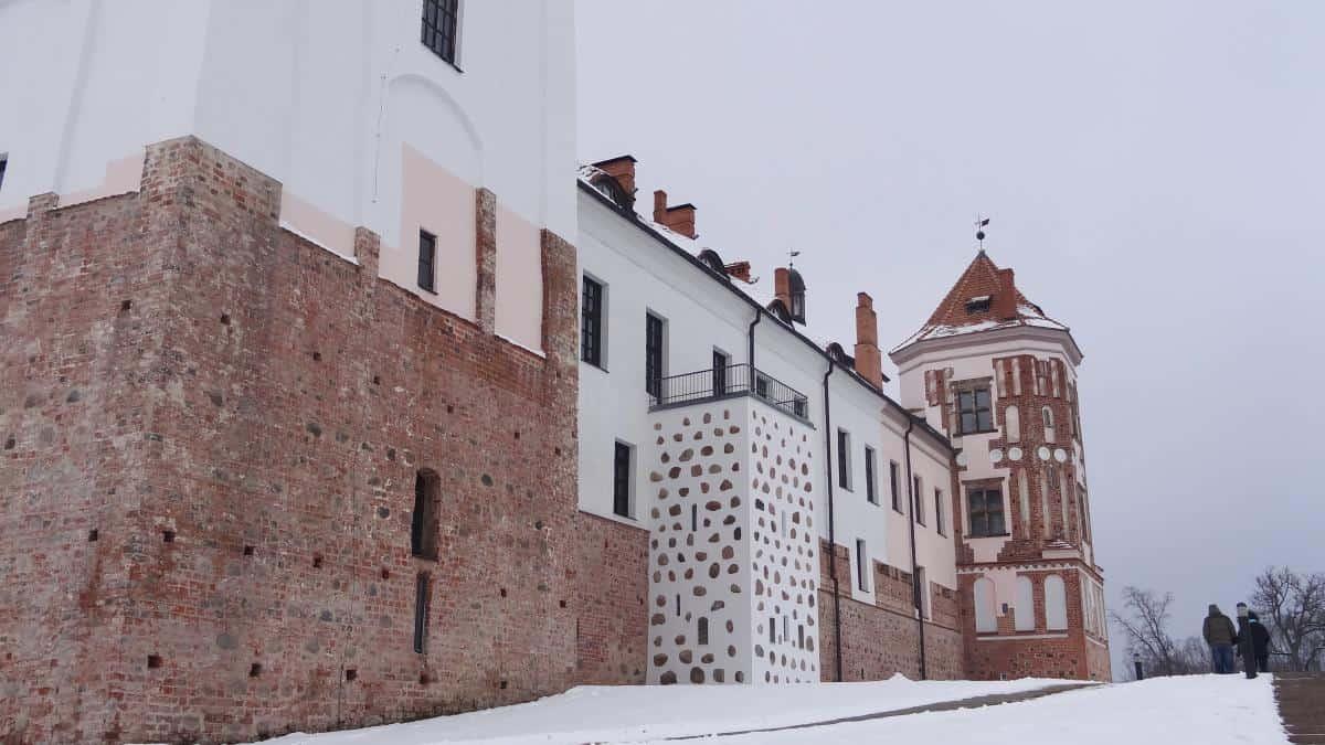 Schloss Mir Rückseite