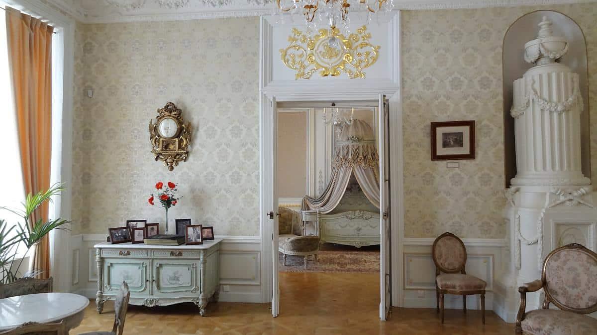 Wohnräume in Schloss Njaswisch