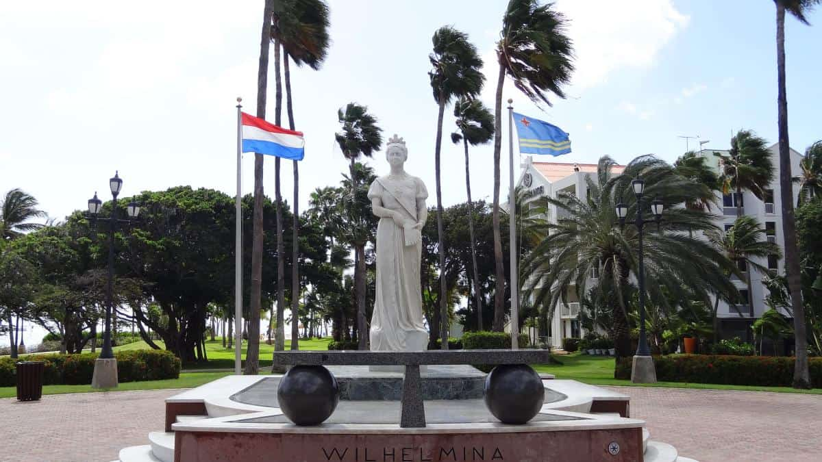 Wilhelmina-Park, Oranjestad, Aruba