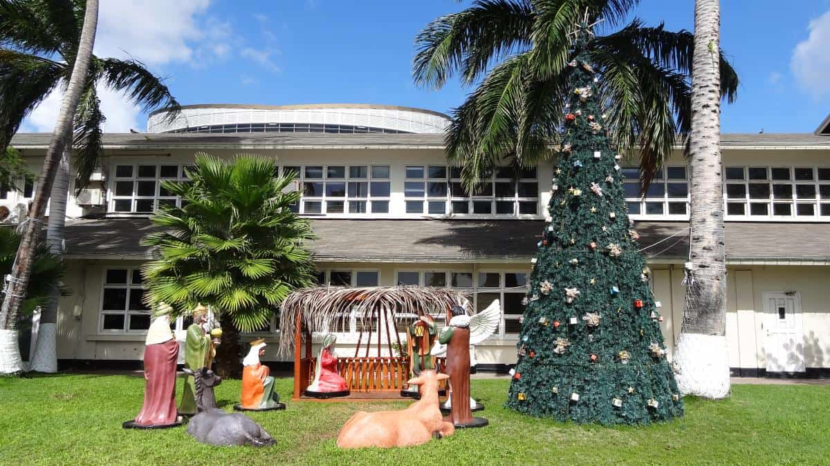 Weihnachtsdekoration, Oranjestad, Aruba
