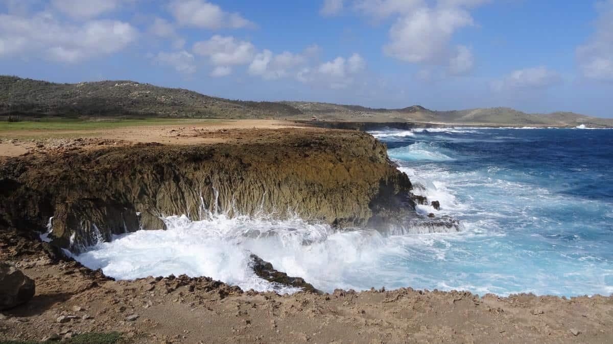 Felsenküste Aruba