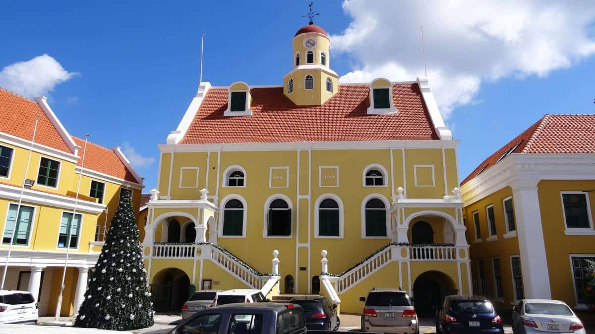 Innenhof von Fort Amsterdam