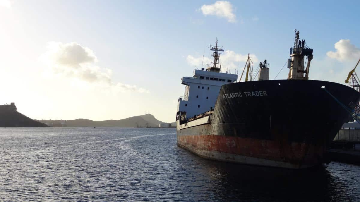 Werft im Hafen von Curaçao