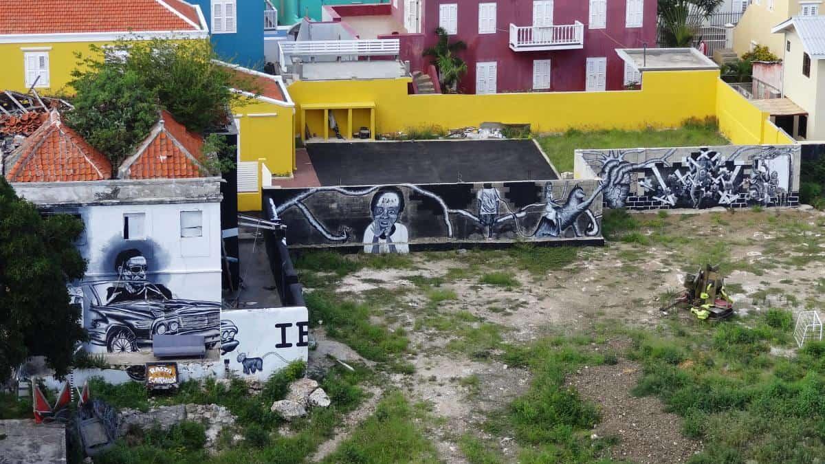 Streetart in Otrabanda