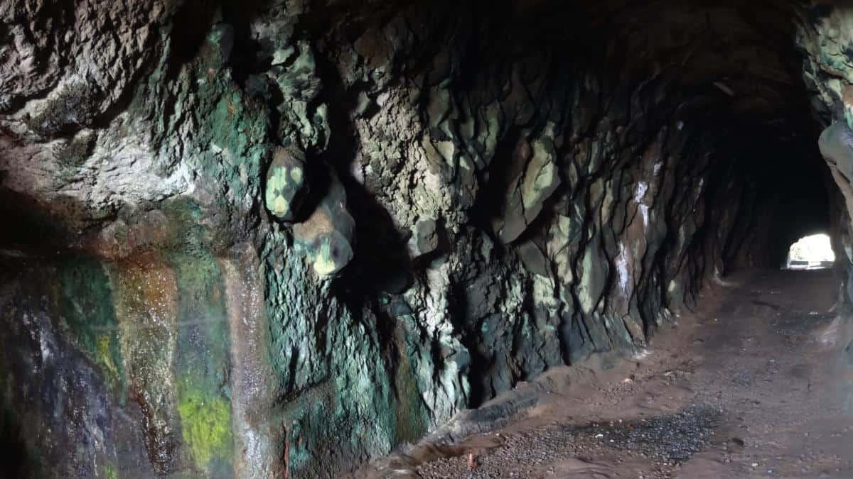 Black Point Tunnel, St. Vincent