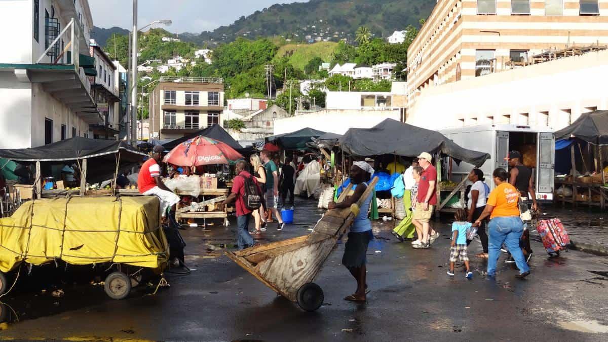 Markt in Kingstown, St. Vincent