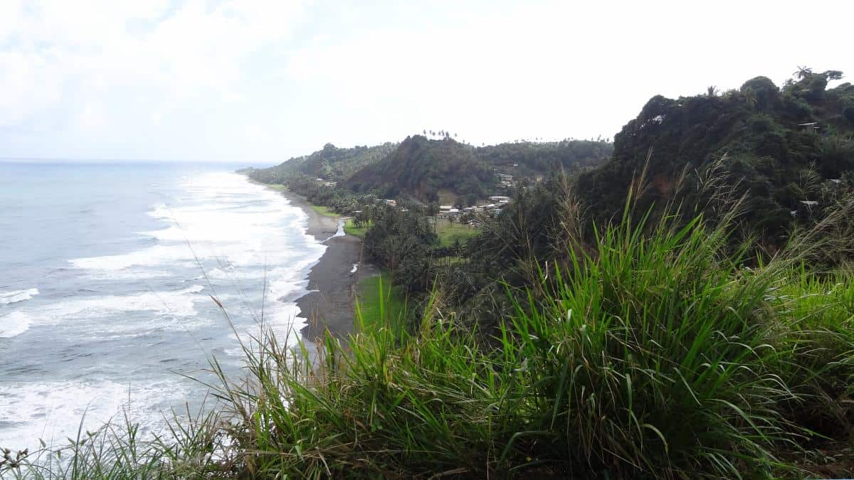 Steilküste, St. Vincent