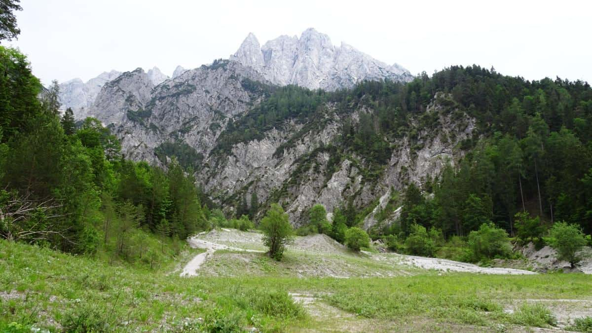 Bergblick, Nationalpark Gesäuse