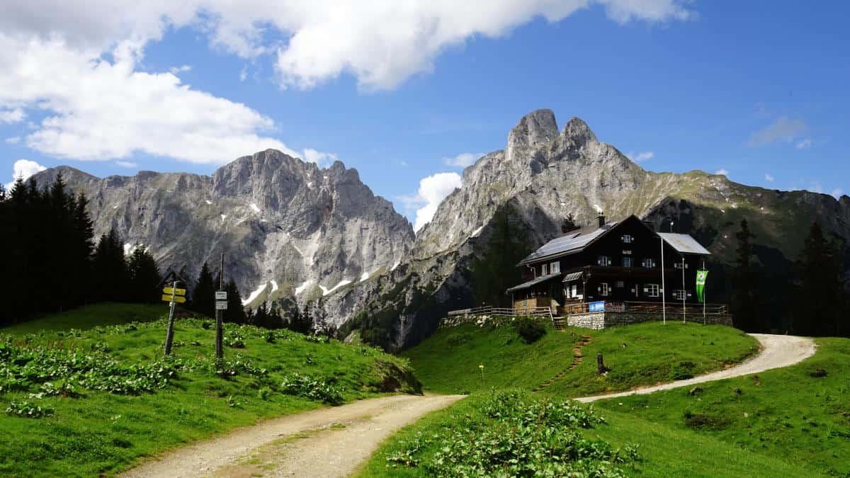 Mödlingerhütte, Gesäuse