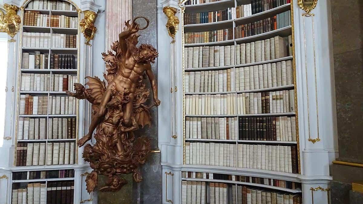 Darstellung der Hölle, Klosterbibliothek Admont