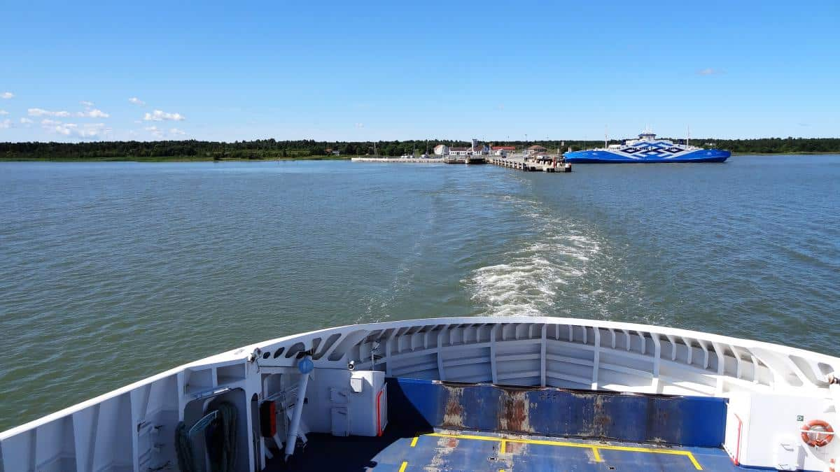 Fähre zwischen Virtsu und Kuivastu, Estland