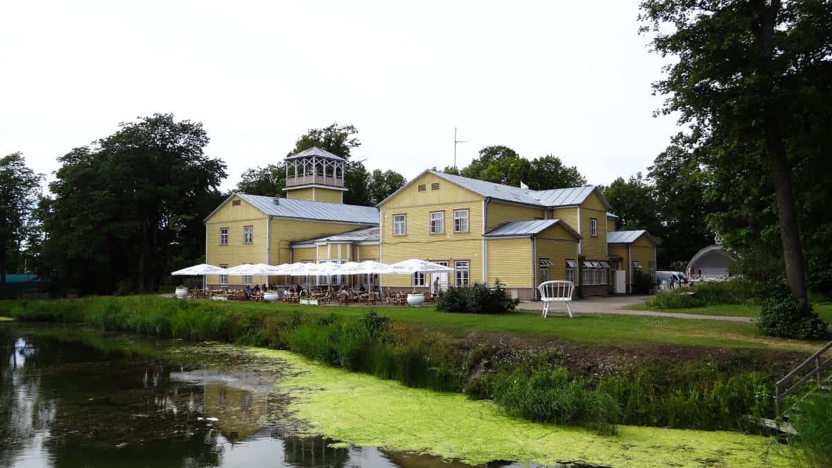 Kurhaus, Kuressaare, Saaremaa, Estland