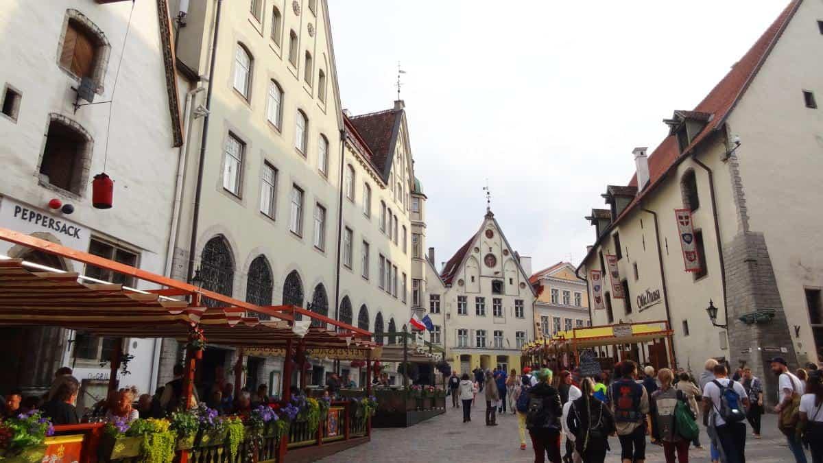 Kaufmanns- und Hansehäuser in Tallinn