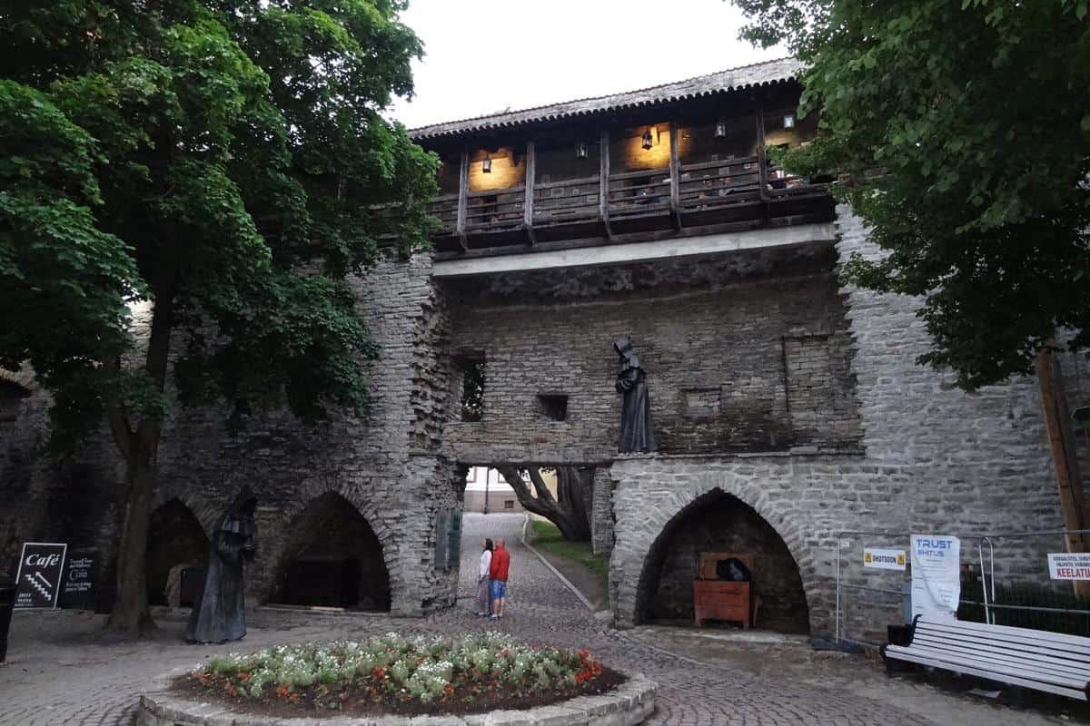 Innere Stadtmauer auf dem Domberg