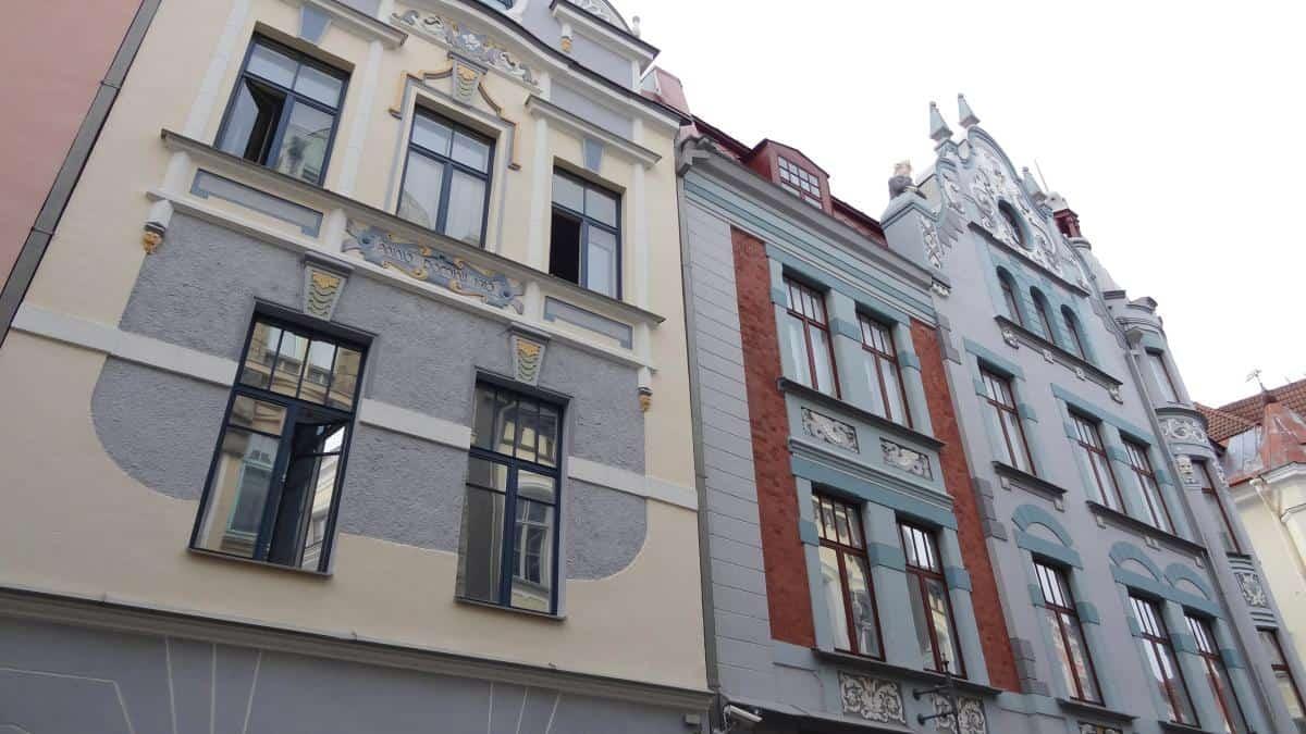 Kaufmannshäuser in Tallinn