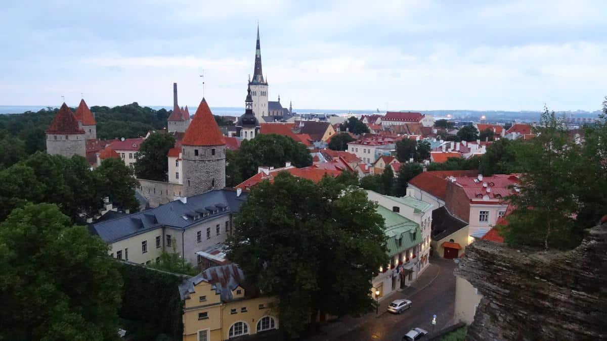 Blick von der Patkuli-Aussichtsplattform - Tallinn an einem Tag