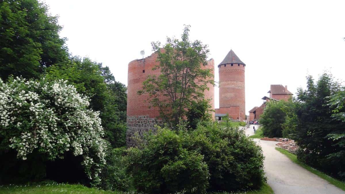Eingang zur Burg Turaida