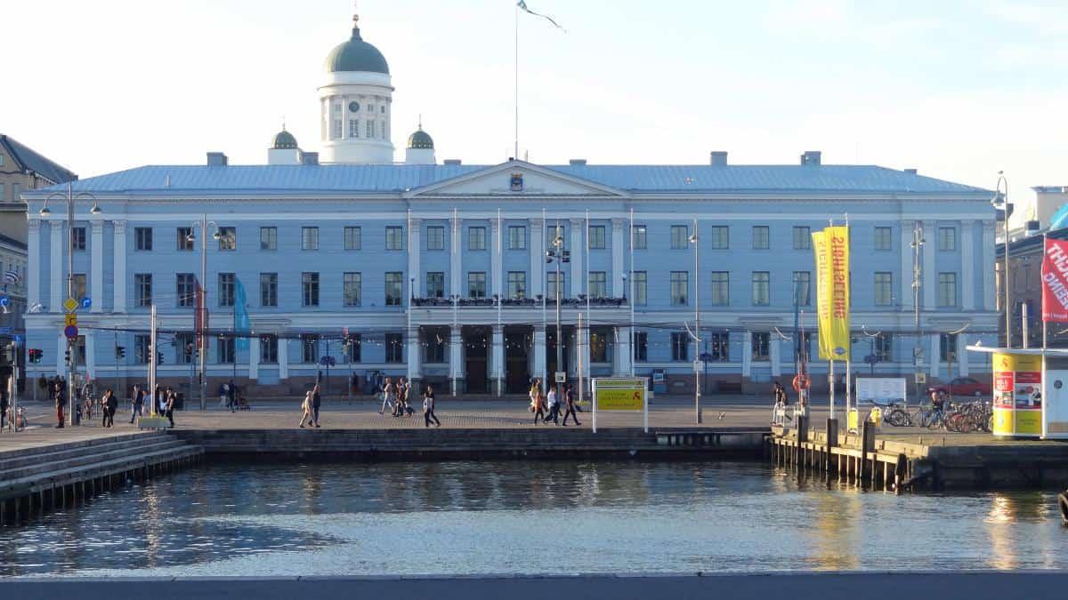 Das Rathaus von Helsinki