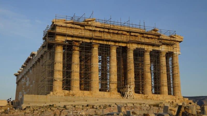 Fassade des Parthenon