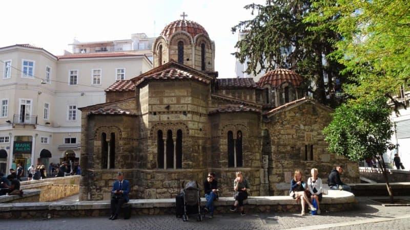 Byzantinische Kapnikarea-Kirche