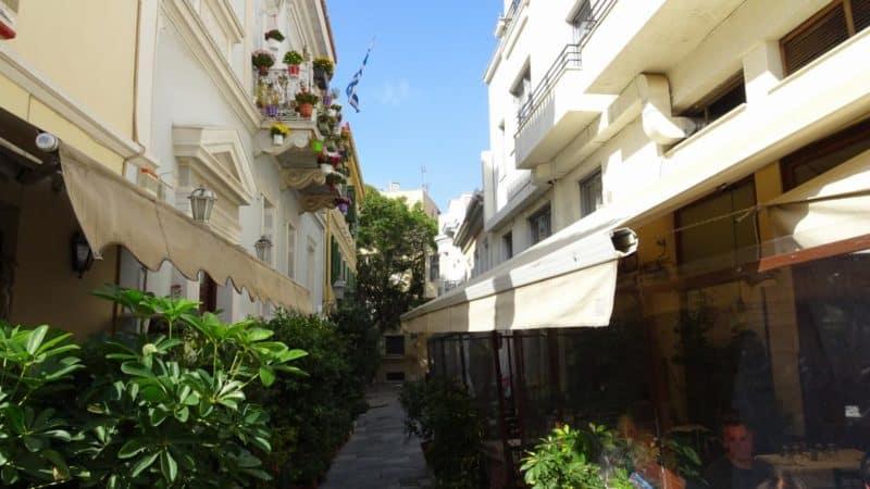 Kleine Gassen in der Pláka, Athen