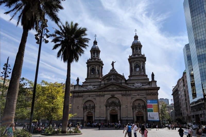 Plaza de Armas und Kathedrale in Santiago de Chile