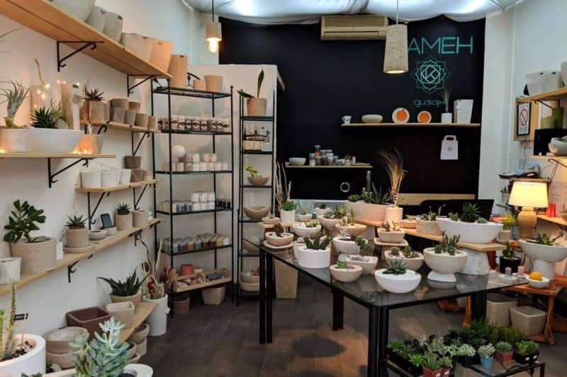 Kleines Geschäft im Belgrade Design District