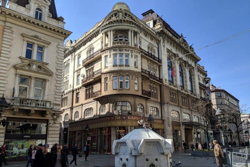Gründerzeithäuser auf der Knez Mihailova