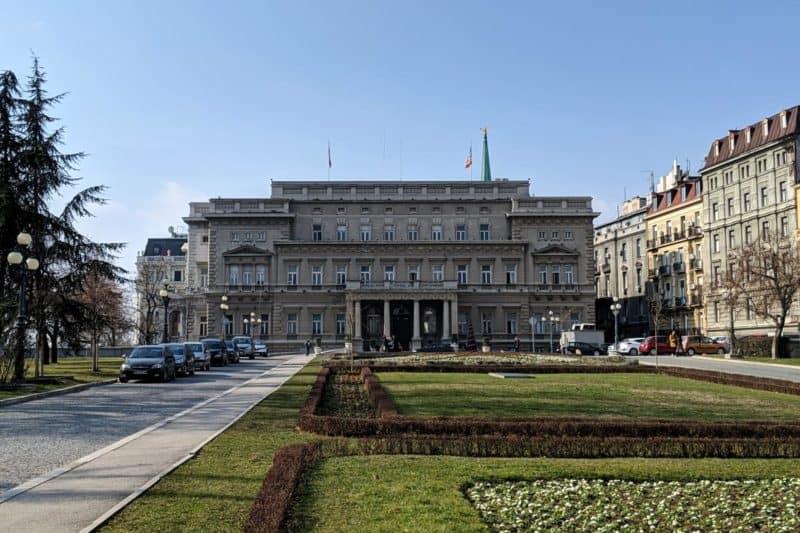 Der Alte Palast Stari dvor