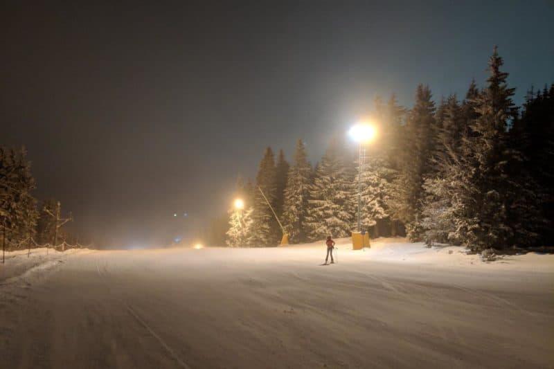 Nachtpiste in Kopaonik