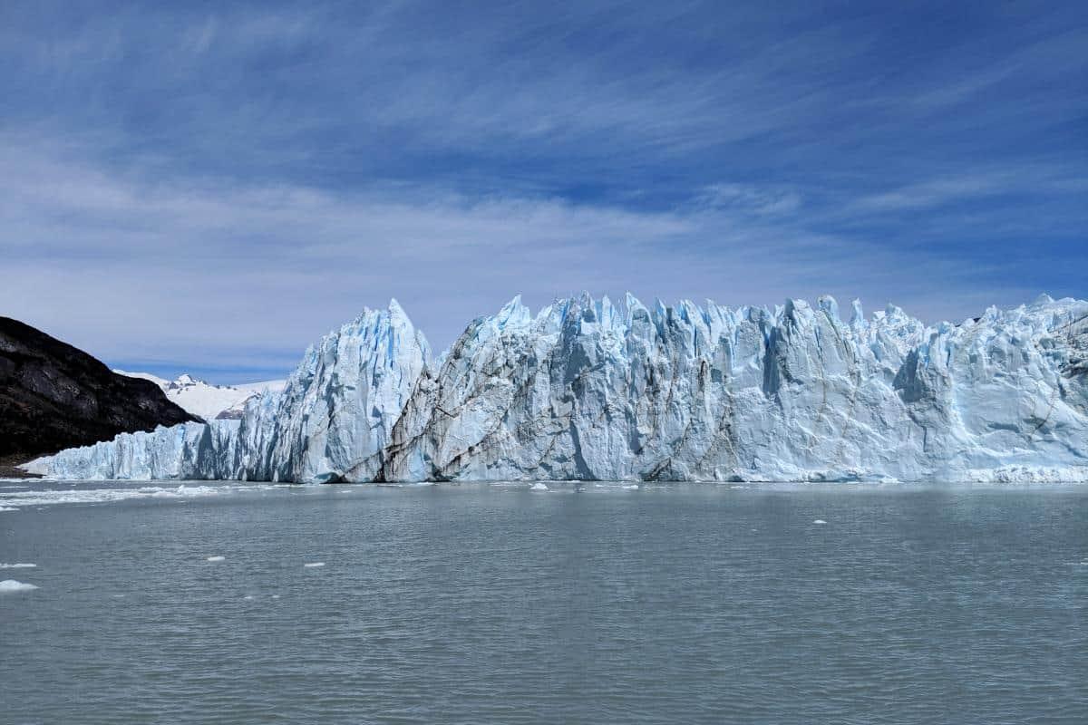 Abbruchkante des Perito-Moreno-Gletschers