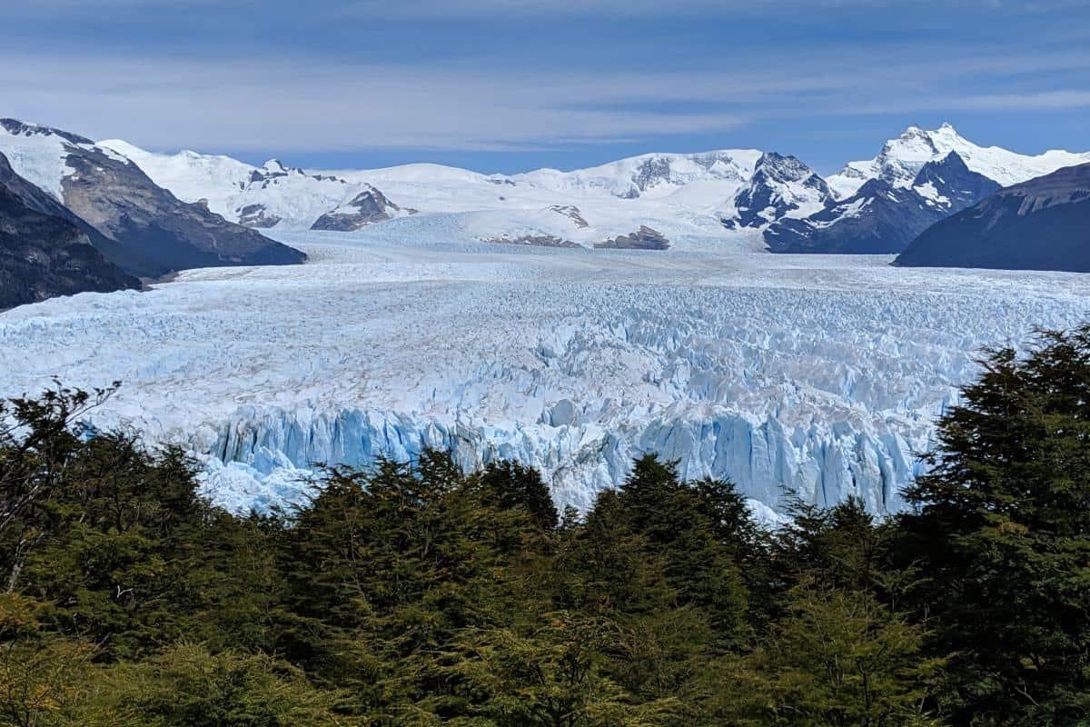 Perito-Moreno-Gletscher von oben