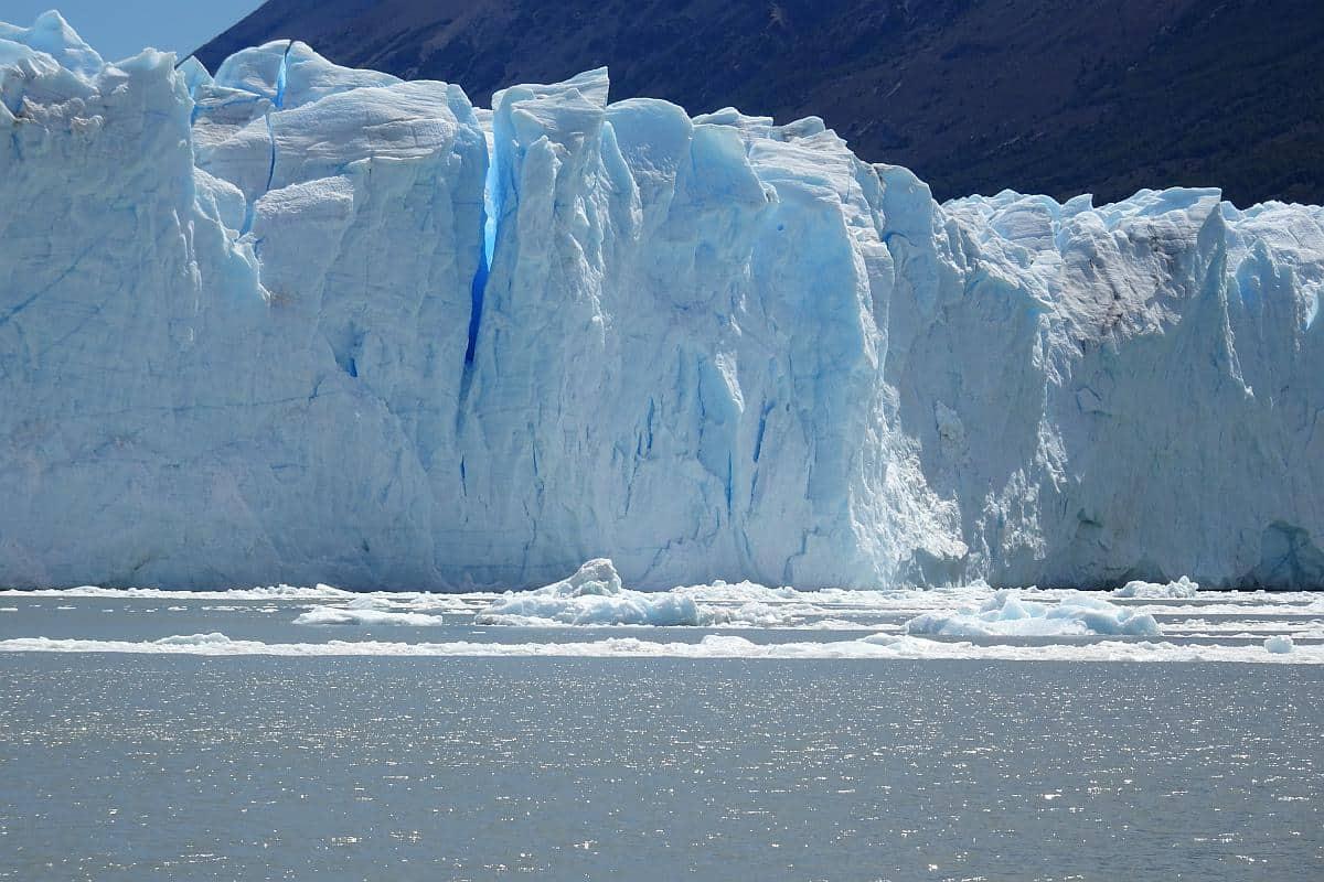 Gletscherspalte im Perito-Moreno-Gletscher