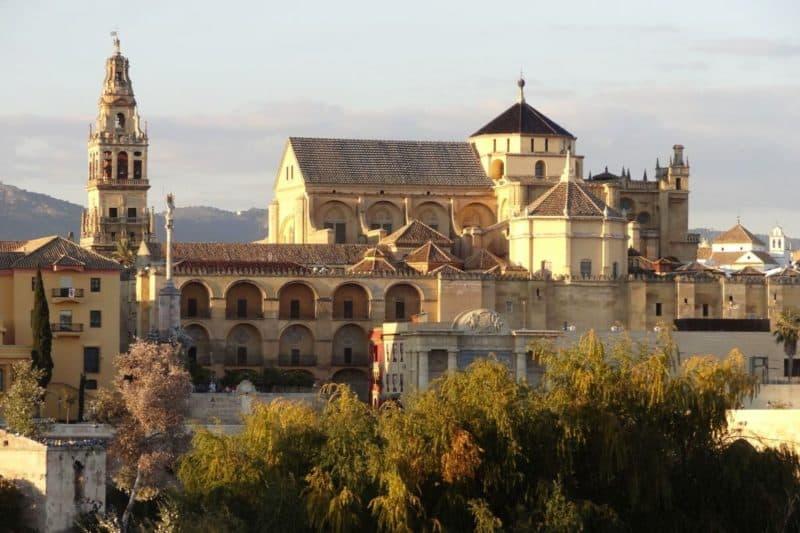 Blick auf die Mezquita von Córdoba, Andalusien