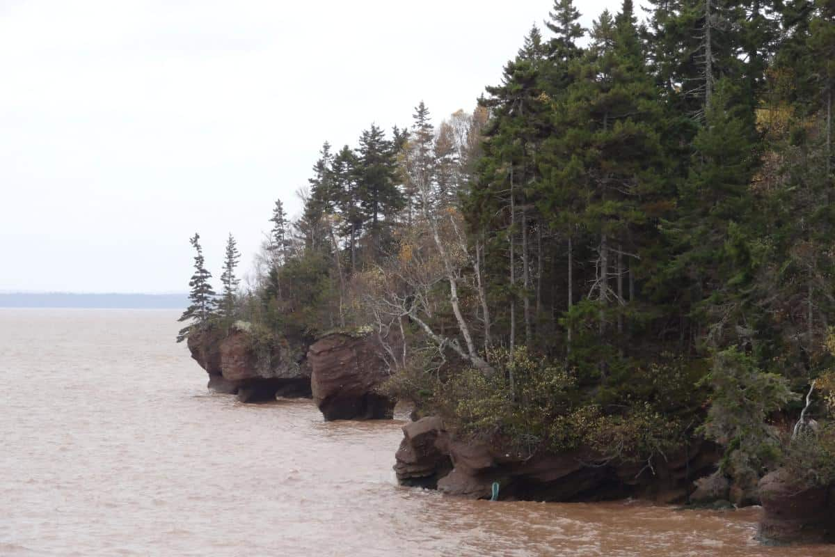 Hopewell Rocks bei Flut
